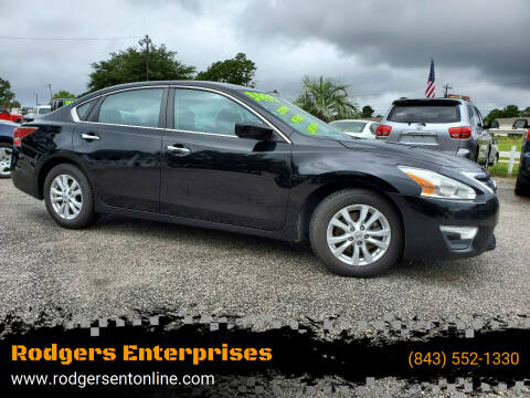 2014 Nissan Altima for sale at Rodgers Enterprises in North Charleston SC