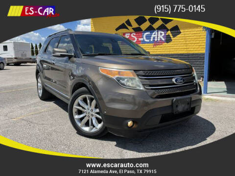 2015 Ford Explorer for sale at Escar Auto - 9809 Montana Ave Lot in El Paso TX