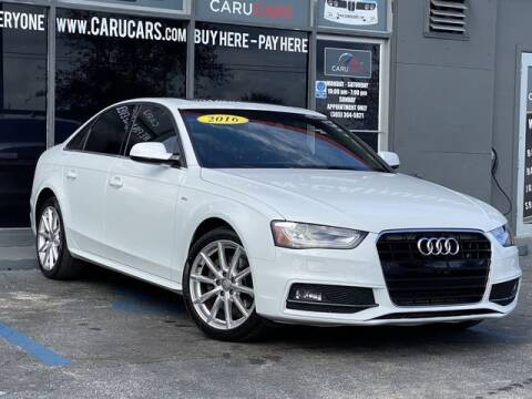 2016 Audi A4 for sale at CARUCARS LLC in Miami FL