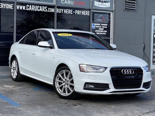 2016 Audi A4 for sale at CARUCARS LLC in Miami FL