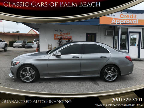 2015 Mercedes-Benz C-Class for sale at Classic Cars of Palm Beach in Jupiter FL
