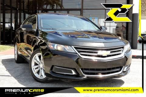 2016 Chevrolet Impala for sale at Premium Cars of Miami in Miami FL