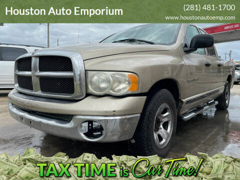 2004 Dodge Ram Pickup 1500 for sale at Houston Auto Emporium in Houston TX