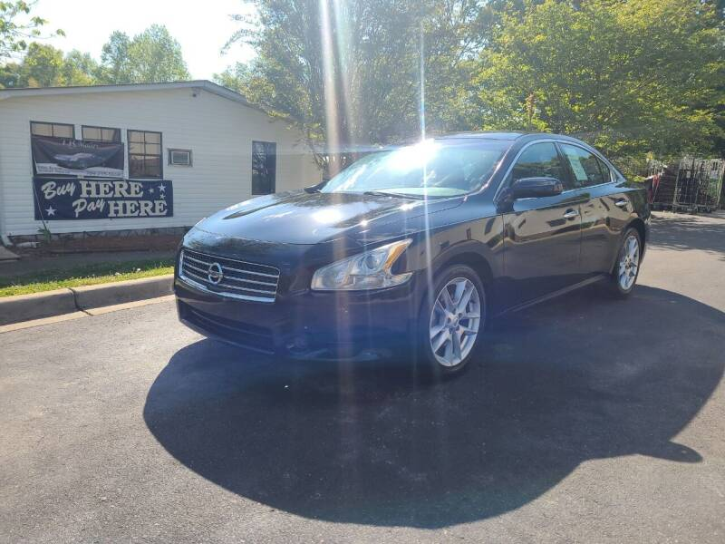 2010 Nissan Maxima for sale at TR MOTORS in Gastonia NC