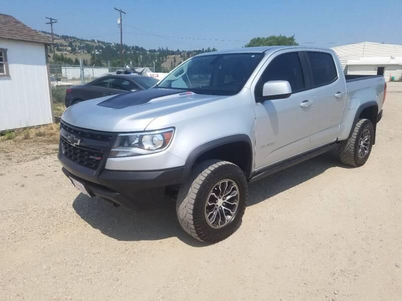 2018 Chevrolet Colorado for sale at AUTO BROKER CENTER in Lolo MT