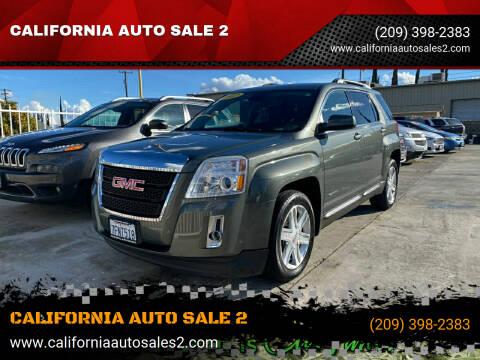 2012 GMC Terrain for sale at CALIFORNIA AUTO SALE 2 in Livingston CA