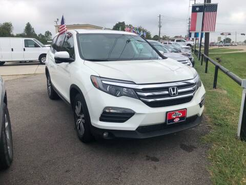2016 Honda Pilot for sale at FREDY CARS FOR LESS in Houston TX