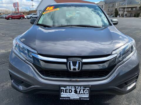 2016 Honda CR-V for sale at RED TAG MOTORS in Sycamore IL