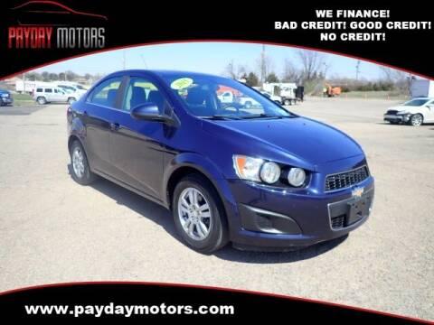 2015 Chevrolet Sonic for sale at Payday Motors in Wichita KS