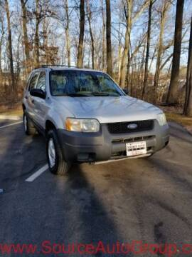 2002 Ford Escape for sale at Source Auto Group in Lanham MD