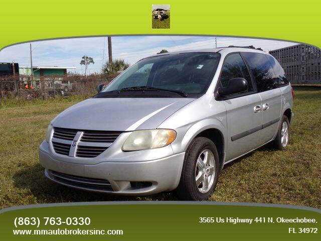 2006 Dodge Caravan for sale at M & M AUTO BROKERS INC in Okeechobee FL