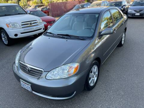 2007 Toyota Corolla for sale at C. H. Auto Sales in Citrus Heights CA