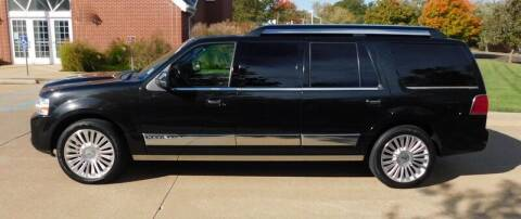 2014 Lincoln Navigator for sale at WEST PORT AUTO CENTER INC in Fenton MO