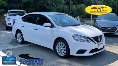 2016 Nissan Sentra for sale at Assistive Automotive Center in Durham NC