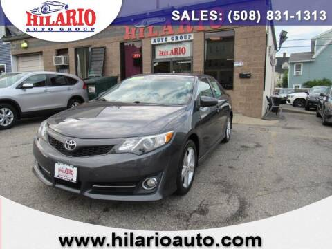 2012 Toyota Camry for sale at Hilario's Auto Sales in Worcester MA