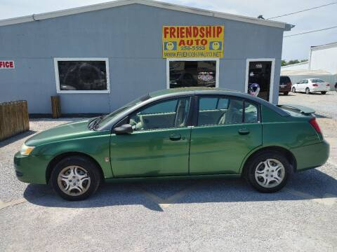 2003 Saturn Ion for sale at Friendship Auto Sales in Broken Arrow OK