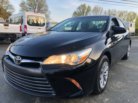 2016 Toyota Camry for sale at Capital Motors in Raleigh NC