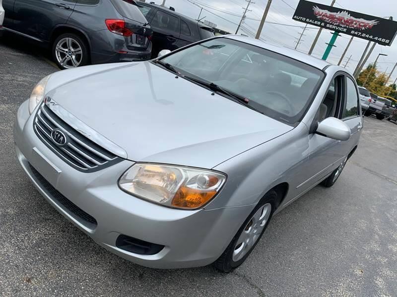 2008 Kia Spectra for sale at Washington Auto Group in Waukegan IL