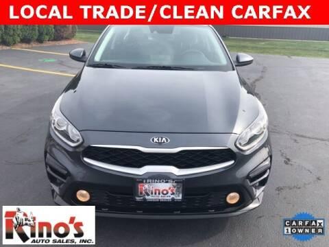 2019 Kia Forte for sale at Rino's Auto Sales in Celina OH