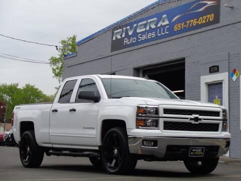 2015 Chevrolet Silverado 1500 for sale at Rivera Auto Sales LLC in Saint Paul MN