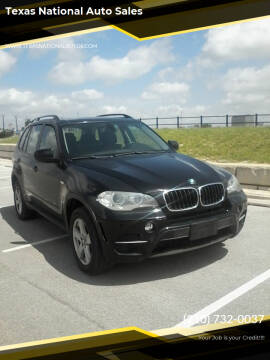 2012 BMW X5 for sale at Texas National Auto Sales in San Antonio TX