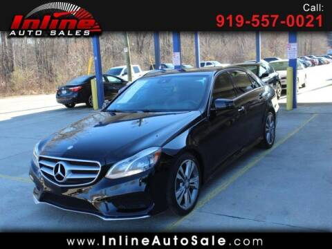 2016 Mercedes-Benz E-Class for sale at Inline Auto Sales in Fuquay Varina NC