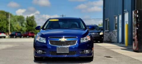 2013 Chevrolet Cruze for sale at Wildfire Motors in Richmond IN