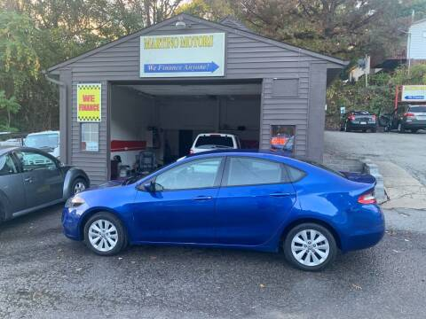 2014 Dodge Dart for sale at Martino Motors in Pittsburgh PA