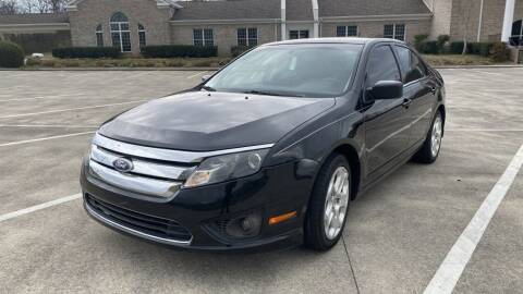 2011 Ford Fusion for sale at 411 Trucks & Auto Sales Inc. in Maryville TN