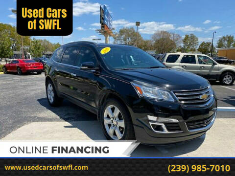 2016 Chevrolet Traverse for sale at Used Cars of SWFL in Fort Myers FL
