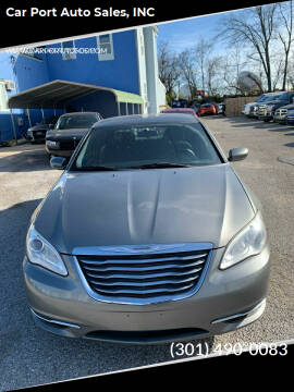 2012 Chrysler 200 for sale at Car Port Auto Sales, INC in Laurel MD
