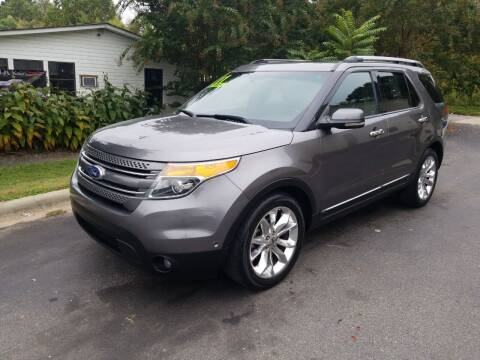 2011 Ford Explorer for sale at TR MOTORS in Gastonia NC