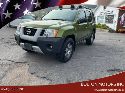 2012 Nissan Xterra for sale at BOLTON MOTORS INC in Bolton CT