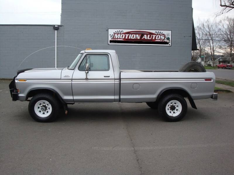 1979 Ford F-250 for sale at Motion Autos in Longview WA