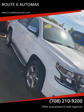 2015 Chevrolet Tahoe for sale at ROUTE 6 AUTOMAX in Markham IL