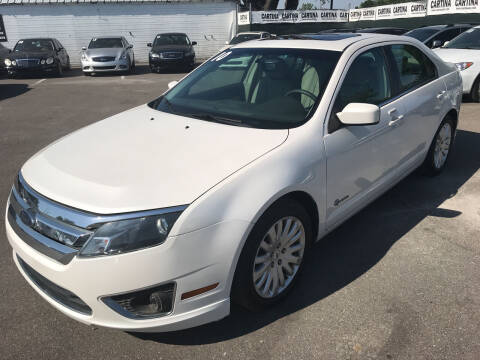 2010 Ford Fusion Hybrid for sale at Cartina in Tampa FL