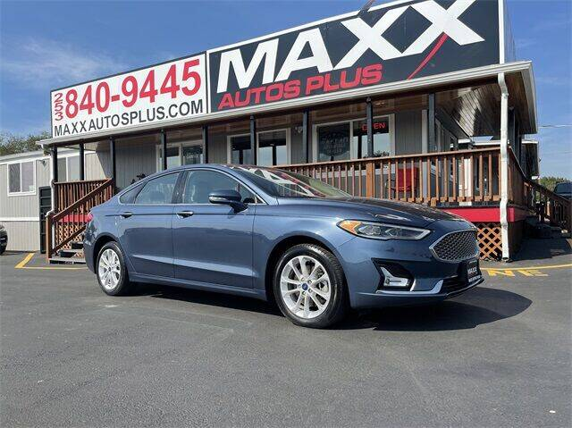 2019 Ford Fusion Energi for sale in Puyallup, WA