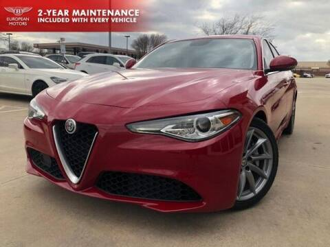 2017 Alfa Romeo Giulia for sale at European Motors Inc in Plano TX