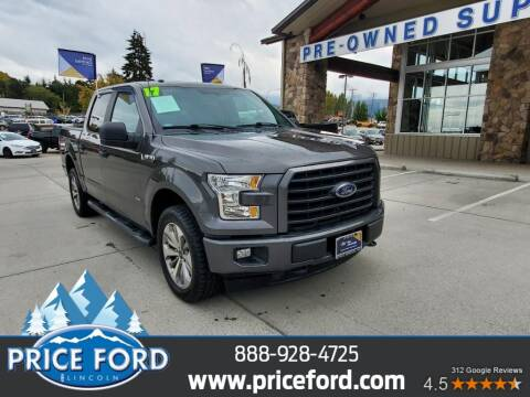 2017 Ford F-150 for sale at Price Ford Lincoln in Port Angeles WA