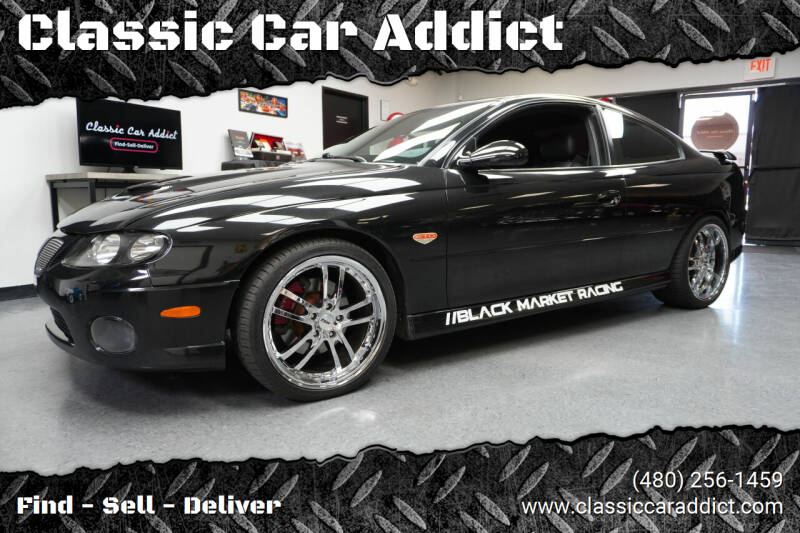 2005 Pontiac GTO for sale at Classic Car Addict in Mesa AZ