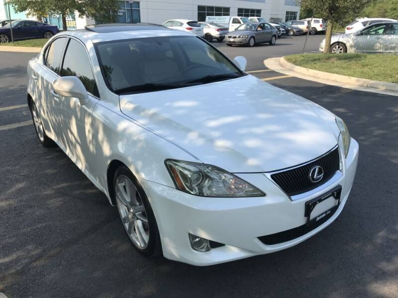 2007 Lexus IS 250 for sale at Dotcom Auto in Chantilly VA