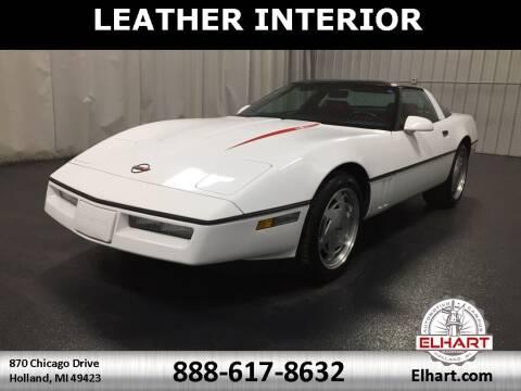 1989 Chevrolet Corvette for sale at Elhart Automotive Campus in Holland MI