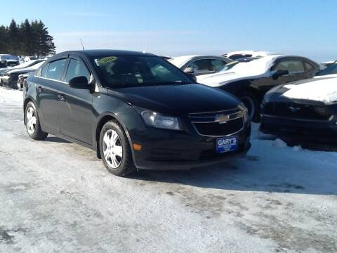 2014 Chevrolet Cruze for sale at Garys Sales & SVC in Caribou ME
