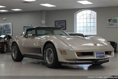 1982 Chevrolet Corvette for sale at Corvette Mike New England in Carver MA