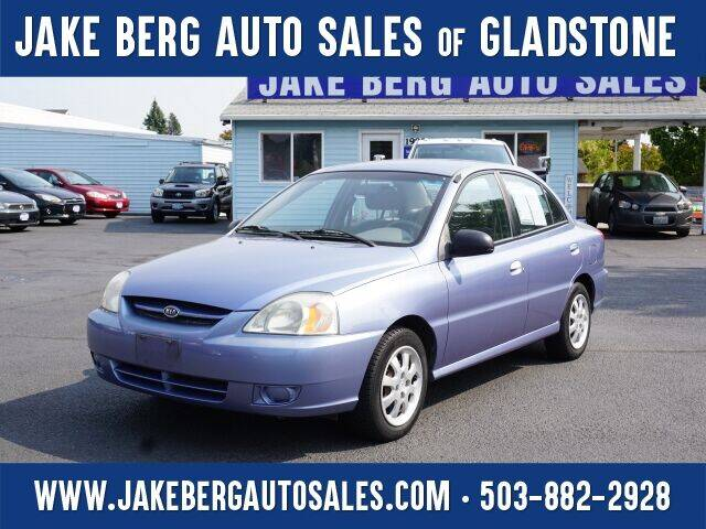 2005 Kia Rio for sale at Jake Berg Auto Sales in Gladstone OR