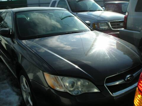 2009 Subaru Legacy for sale at ZJ's Custom Auto Inc. in Roseville MI