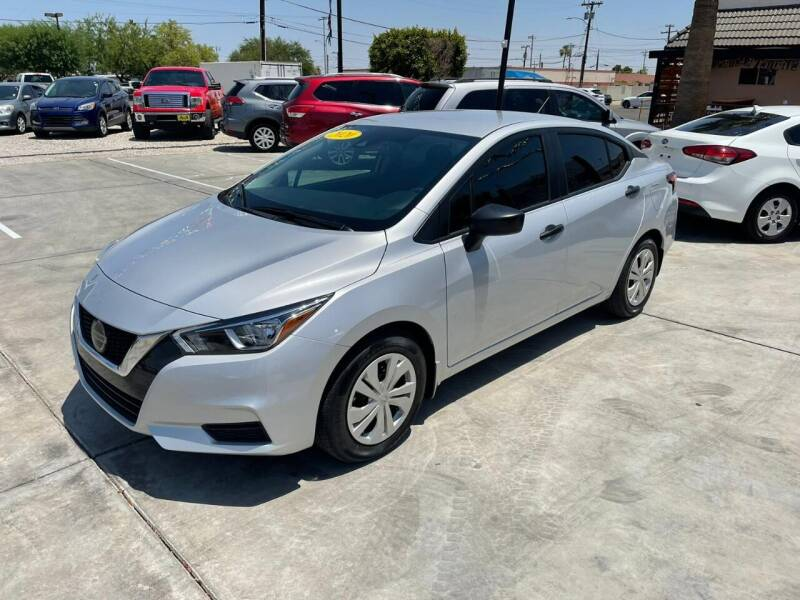 2020 Nissan Versa for sale at A AND A AUTO SALES in Gadsden AZ