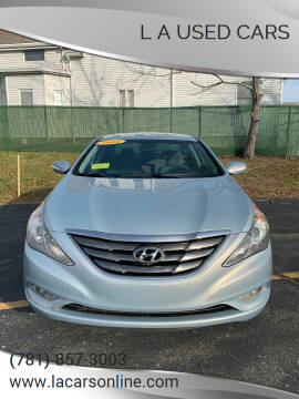 2014 Hyundai Sonata for sale at L A Used Cars in Abington MA