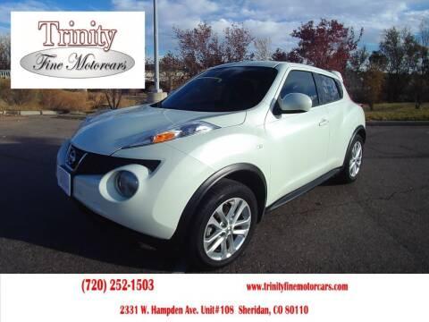 2012 Nissan JUKE for sale at TRINITY FINE MOTORCARS in Sheridan CO