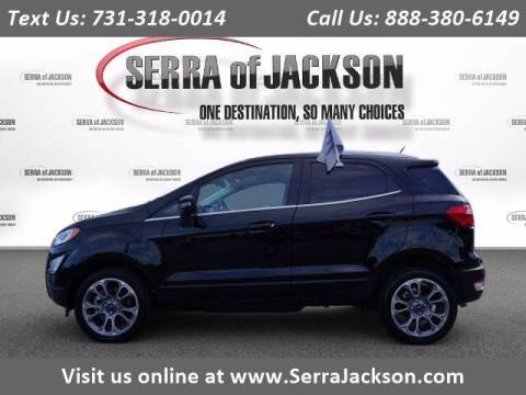 2020 Ford EcoSport for sale at Serra Of Jackson in Jackson TN